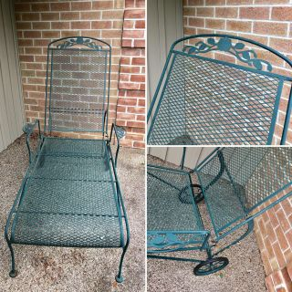 Vintage Chaise Lounge Chair