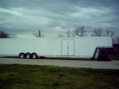 52 ft. Gooseneck Racecar Trailer