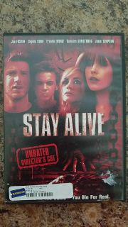Stay Alive DVD