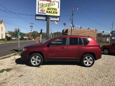 2012 JEEP COMPASS LATITUDE 4 X 4