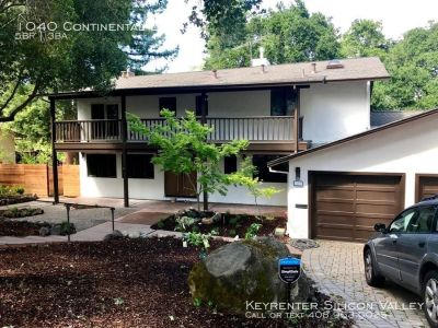 Luxurious 5 bed rental home, completely remodeled in 2019 w/ stunning interiors, 1/3 acre lot, in Sharon Heights, Menlo Park
