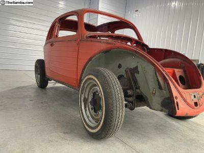 1959 VW Bug Ragtop