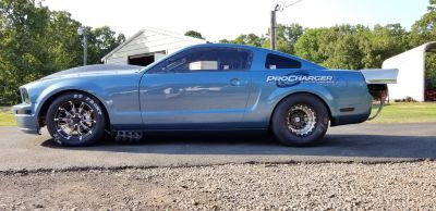 2006 mustang 25.5 F3 Procharged 540bbc holly efi