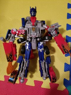 Optimus Prime - talks and converts to vehicle mode