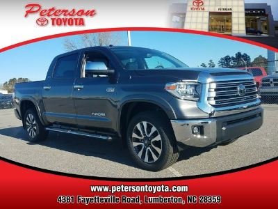 2018 Toyota Tundra LIMITED CREWMAX 5.5' BED 5.7L (MAGNETIC GRAY)