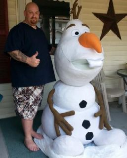 Super Size Plush Olaf from Disney's Frozen