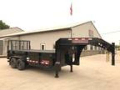 "2018 Midsota HV 82""x16' Heavy Duty Steel Gooseneck Dump Trailer"