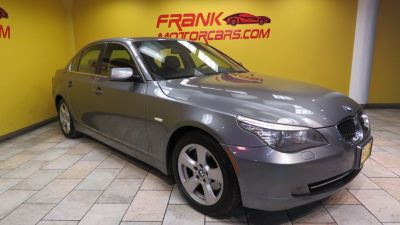 2008 BMW 5-Series 535xi (Platinum Gray Metallic)