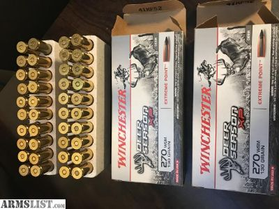 For Sale: Winchester 270 130 grain