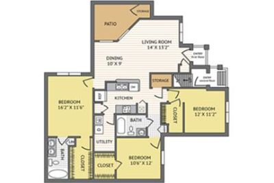 3 bedrooms Apartment - From the moment you enter Colonial.