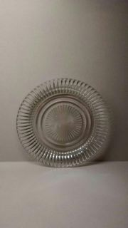 """BEAUTIFUL VINTAGE 8"""" GLASS SERVING PLATE"""
