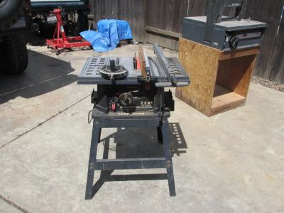 """Craftsman 10"""" direct drive table saw"""