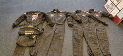 OMP Firesuits; 1 piece, 2 layer. Several Sizes.