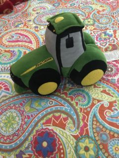John Deere stuffed toy! Very cute meeting Monday June 11th only