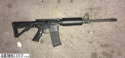 For Sale: AR15 first one with $600