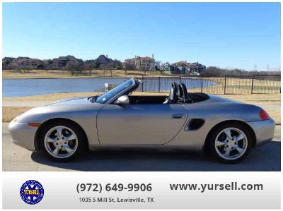 Used 2002 Porsche Boxster for sale