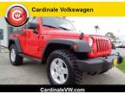 Used 2015 Jeep Wrangler Red, 42.3K miles