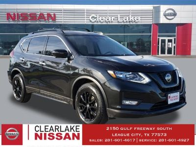2018 Nissan Rogue S (Magnetic Black)