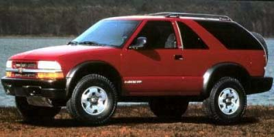 1999 Chevrolet Blazer LS (Light Pewter Metallic)
