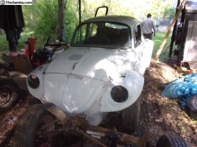 1973 Baja Bug Project