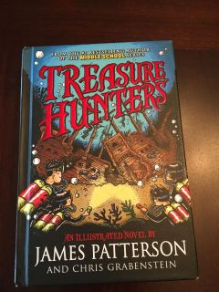 James Patterson young readers novel.