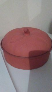 Terracotta bowls with lid