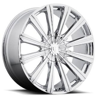 "30"" chrome wheel (Borghini B18) Brand New"