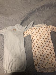 0-6 mo gowns.
