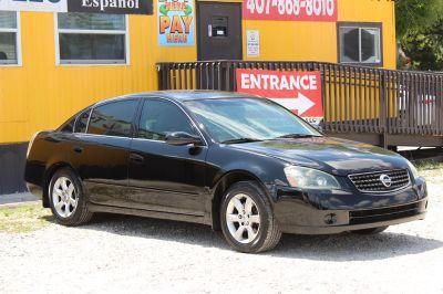 2005 Nissan Altima 2.5 (Black)