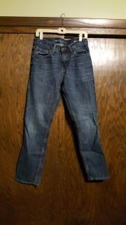 Mens Mossimo Slim Straight Jeans 32/32