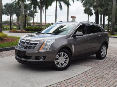 2011 Cadillac SRX Performance Collection (Mocha Steel Metalic)