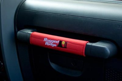 Find Rugged Ridge 13305.55 - 07-10 Jeep Wrangler Red Grab Handle Covers 5 Pcs motorcycle in Suwanee, Georgia, US, for US $21.38