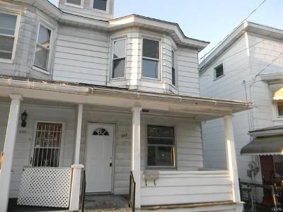 3 Bed 1 Bath Foreclosure Property in Coaldale, PA 18218 - W Early Ave