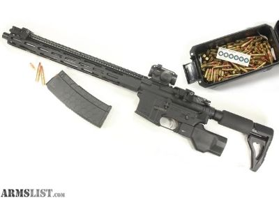 For Sale: Ultimate Featureless AR-15 Platform .300BO + 480 Rounds - Tack Driver