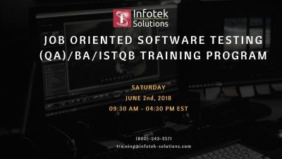 Best Software Testing, QA/BA , ISTQB Certification Training Program