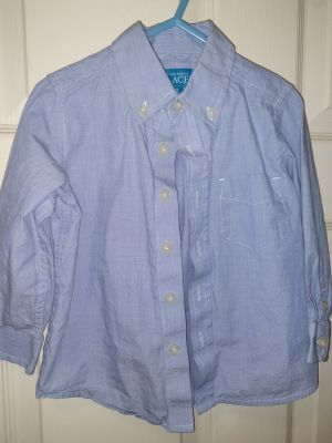 The Children's place button up top