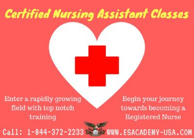 Certified Nursing Assistant Training Classes