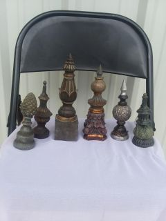 Decor pieces $5 each or $20 for all 6