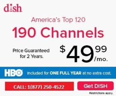 Dish Network New Customer HD For Life Offer +1(877) 250