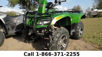 2010 ARCTIC MUDPRO 700 Used ATV (Green)