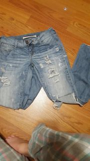 Standards & Practices Distressed Jeans