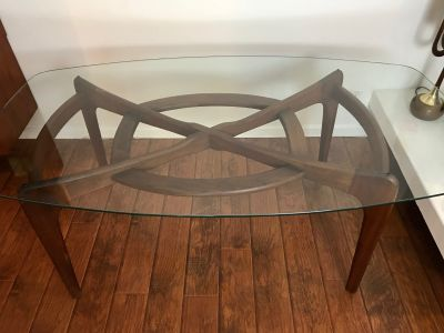 Mid Century Modern Adrian Pearsall Dining Table