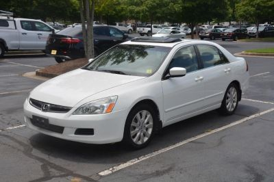 2007 Honda Accord EX-L (White)