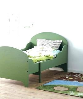 Ikea green expandable toddler bed