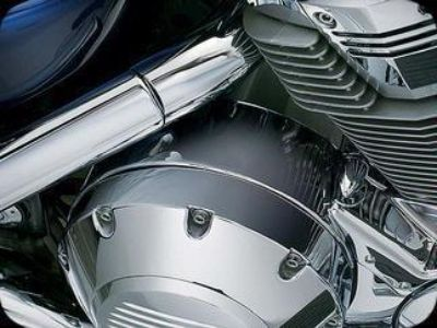 Find Kuryakyn Clutch Housing Shroud Honda VTX1800 7709 motorcycle in Ashton, Illinois, US, for US $64.99