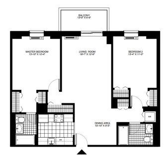 $8070 2 apartment in Hoboken
