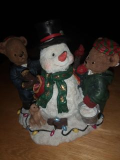 Berry hill bears Christmas collectible