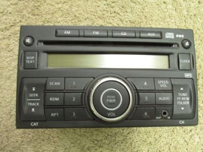 Sell NISSAN NV AM/FM RADIO CD AND AUX PORT -OEM motorcycle in Wapakoneta, Ohio, United States, for US $89.00