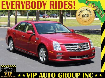 2010 Cadillac STS V6 Luxury (Red)