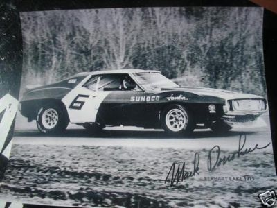 Buy AMC 71 Trans Am Javelin AMX Mark Donohue signed photo motorcycle in Houston, Texas, US, for US $9.00